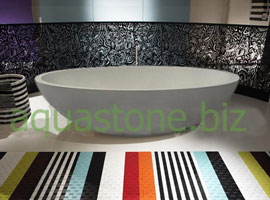 limestone bathtube