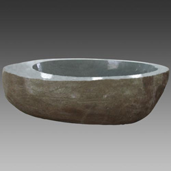 cobble marble bathtub