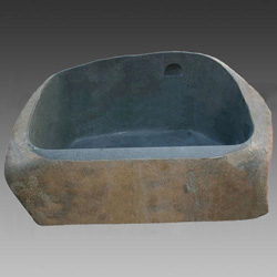 cobble marble bathroom bathtub