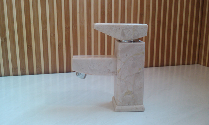 natural stone (marble) bathroom water mixer