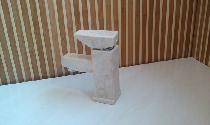 natural stone (marble) bathroom faucet